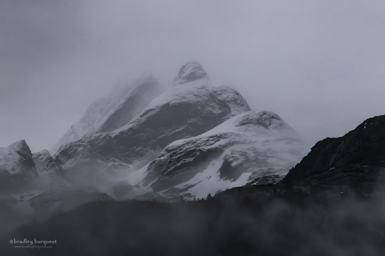 Mountains near Dawes  Glacier