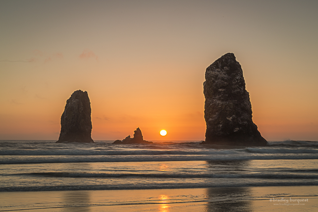 The Needles at Cannon Beach, Oregon