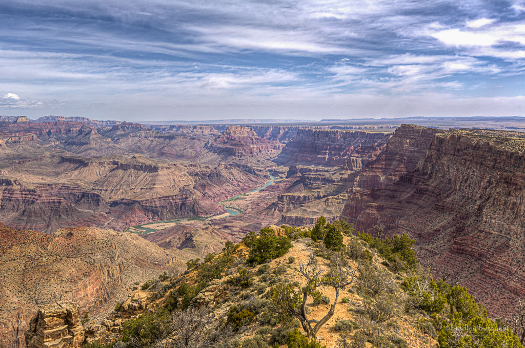 Colorado River view in the Grand Canyon