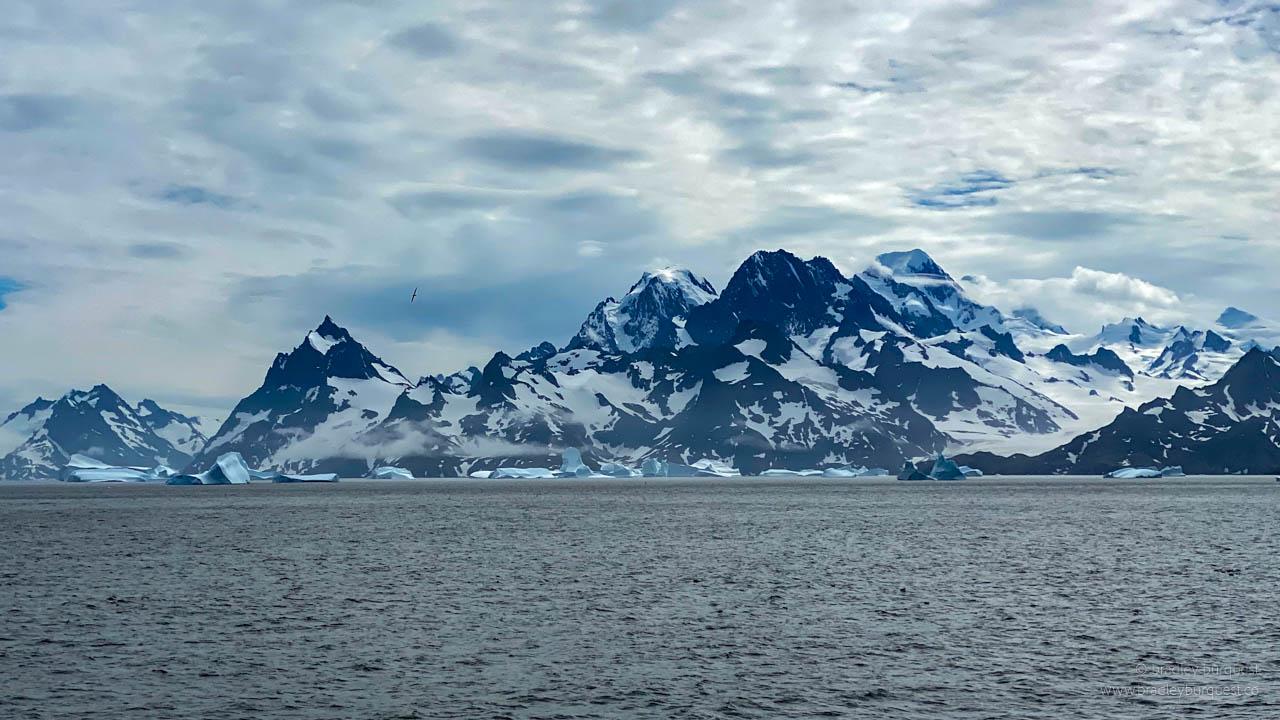 Icebergs near Drygalski Fjord
