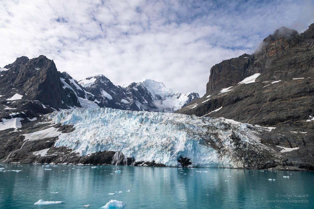 Glacier in Drygalski Fjord