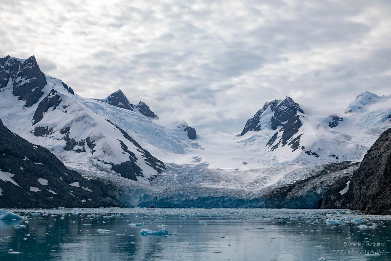 Risting Glacier in Drygalski Fjord