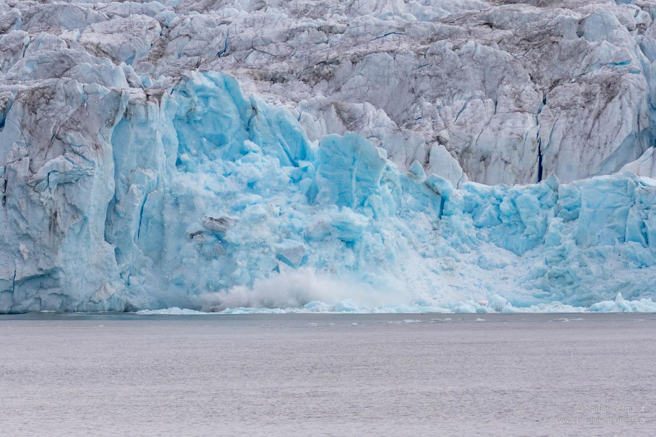 Nordenskjold Glacier Calving